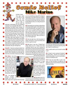 Mike Marino story in Venues